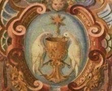 Wandgemälde im Kloster Fonte Avellana
